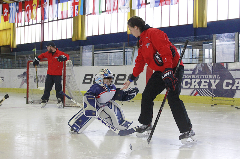On–ice training